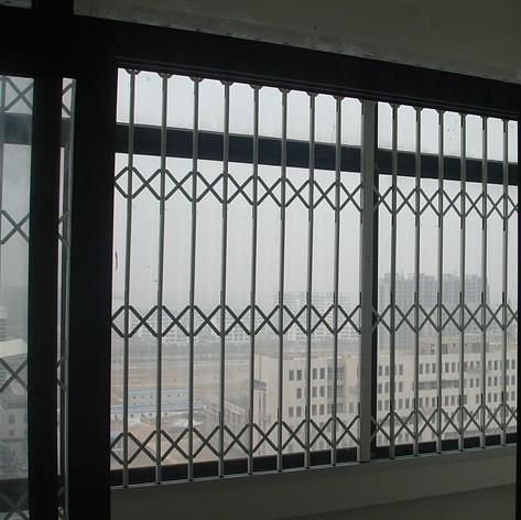 落地窗防盗网效果图_不锈钢防盗窗尺寸安装效果图新型内置隐形防